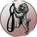 Emblem Pudelkönig, 50mm Durchmesser