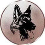 Emblem Schäferhund, 50mm Durchmesser