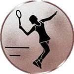 Emblem Tennis/Damen, 50mm Durchmesser