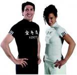 adidas T-Shirt Karate Lycra schwarz