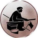 Emblem Angeln/Ufer, 50mm Durchmesser