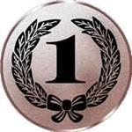 Emblem Zahl 1, 50mm Durchmesser