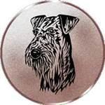 Emblem Riesenschnauzer, 50mm Durchmesser