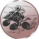 Emblem Quad, 50mm Durchmesser