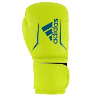 adidas Speed 50 gelb/blau Boxhandschuhe
