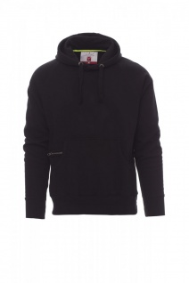 Kapuzensweater Hoody schwarz