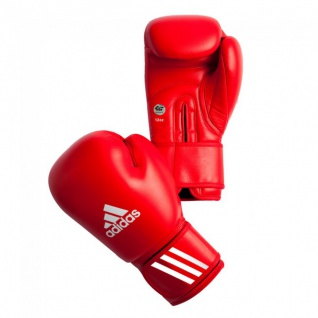 adidas AIBA Boxhandschuhe rot