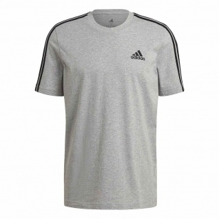 adidas T-Shirt 3S grau