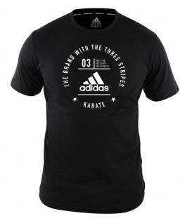 adidas Community T-Shirt Karate schwarz/weiß