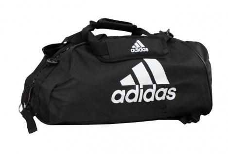adidas Sporttasche - Sportrucksack schwarz/weiss