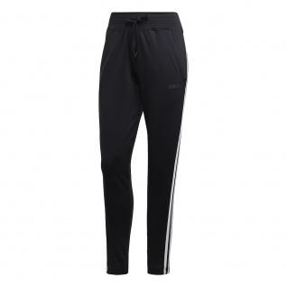 adidas Damen Trainingshose schwarz mit 3 Streifen