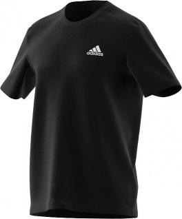 adidas T-Shirt schwarz mit Brustlogo