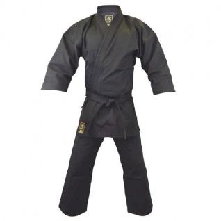 Karate Anzug TORA schwarz 14OZ