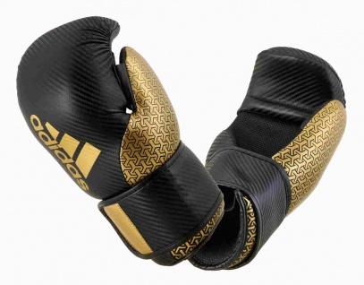 adidas Pro Point Fighter 300 Kickboxhandschuhe schwarz gold