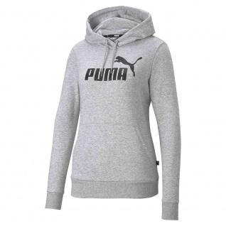 Puma Damen Hoodie ESS grau