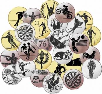 Embleme für Pokale und Medaillen