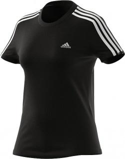 adidas Damen T-Shirt 3S schwarz