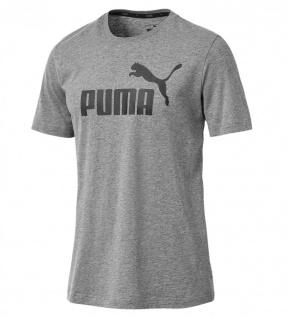 Puma ESS Logo T-Shirt grau