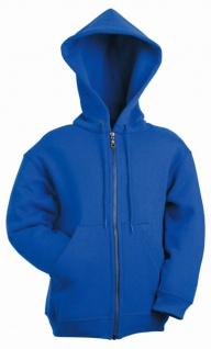 Kids Hooded Zip Sweat