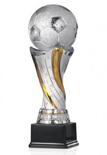 Fußball Pokal aus Keramik
