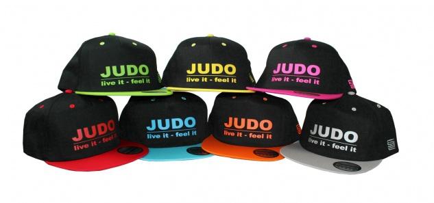 Snapback Cap - Judo live it - feel it