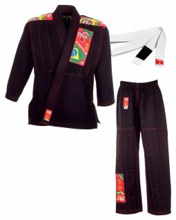 BJJ Kids Anzug schwarz