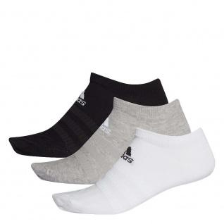 adidas 3er Pack Sneakersocken weiß/grau/schwarz