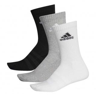 adidas 3er Pack Sportsocken weiß/grau/schwarz