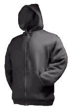 Kapuzen Zip Sweater