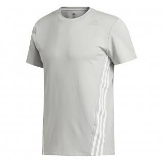 adidas Herren T-Shirt Aero 3S CW TEE grau