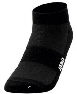Socken Füsslinge 3er Pack schwarz