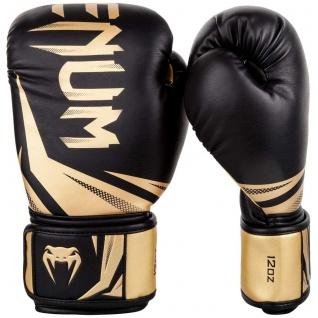 Boxhandschuhe Venum Challenger 3.0 schwarz/gold