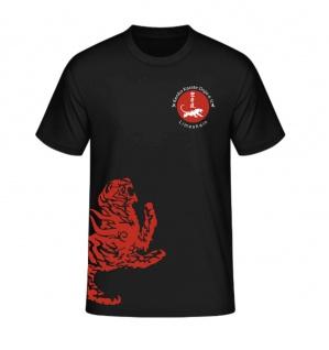 T-Shirt Kenko Karate Dojo Limeshain schwarz