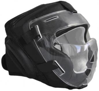 Kopfschutz mit Visier