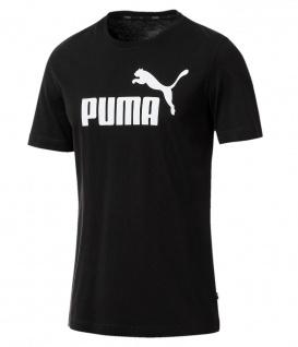 Puma ESS Logo T-Shirt schwarz