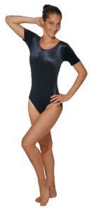 Gym-Dress mit kurzem Arm (PA/EA glänzend)