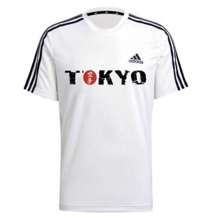 adidas T-Shirt Karate Tokyo weiss
