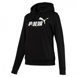 Puma ESS Hoody TR Damen schwarz