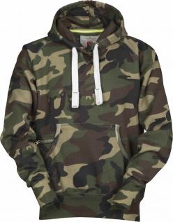 Camouflage Kapuzensweater Hoody