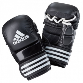 adidas TRAINING GRAPPLING GLOVE Schwarz/Weiss
