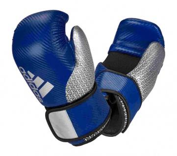 adidas Pro Point Fighter 300 Kickboxhandschuhe blau silber