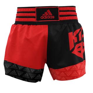 adidas Kickbox Short rot/schwarz