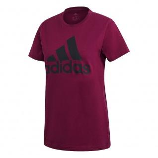 adidas Damen T-Shirt POWBER purple