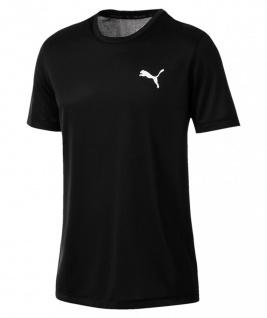Puma ESS Active T-Shirt schwarz