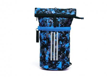 adidas Seesack - Sportrucksack camouflage blau