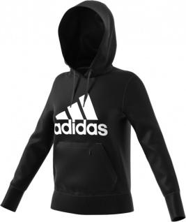adidas Damen Kapuzenpullover schwarz