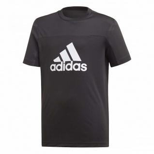 adidas Jungen T-Shirt schwarz