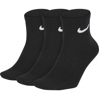 Nike Everyday Lightweight Ankle Sportsocken schwarz