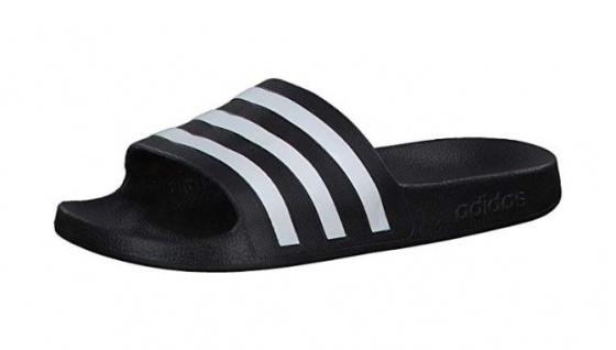 adidas Adiletten Aqua schwarz