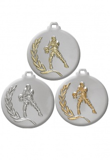 3D Medaille Volleyball